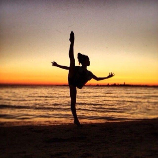 Bailarina al Atardecer.