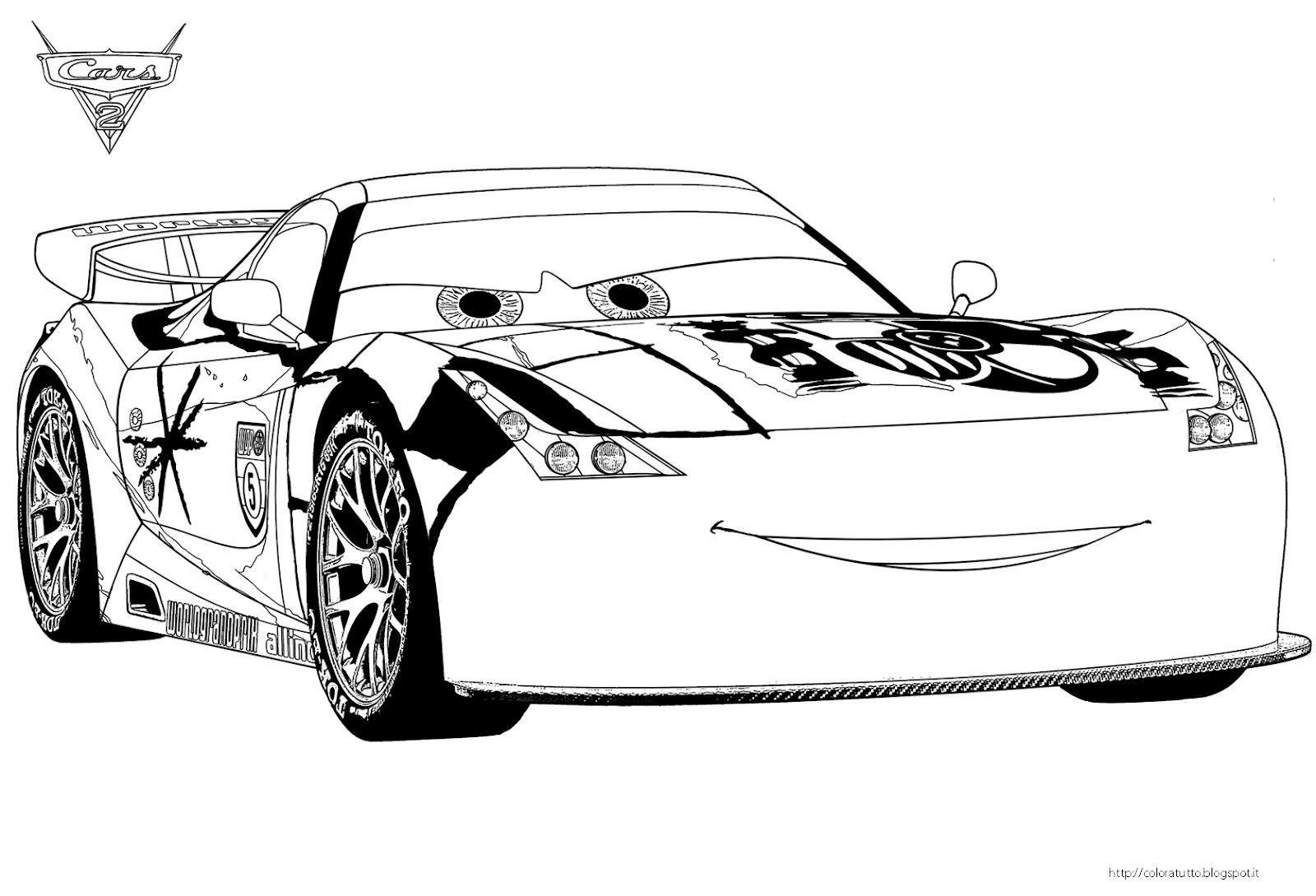 Miguel camino disegno colorare immagini cars stampare pinterest