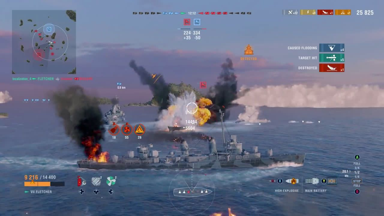 ▷ World of Warships: Legends – First Offical Gameplay