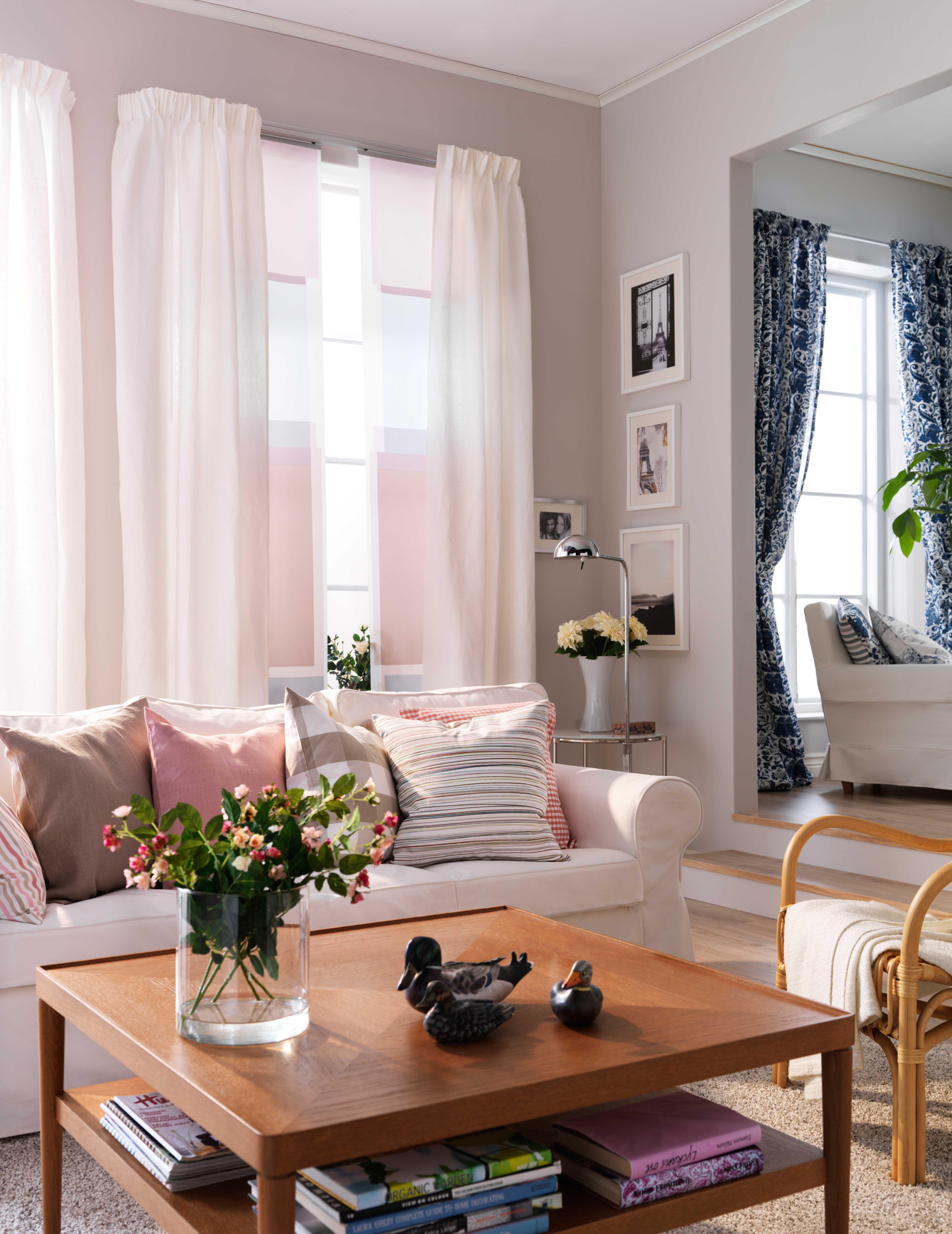 Elegant IKEA Österreich, Inspiration, Wohnzimmer, Sitzecke, Sessel IKEA STOCKHOLM,  Kissen CIRKEL