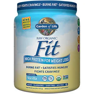 Garden Of Life Raw Organic Fit Vanilla 10 Servings Whey Protein Mrp S Nutrition Shakes Organic Recipes Best Vegan Protein