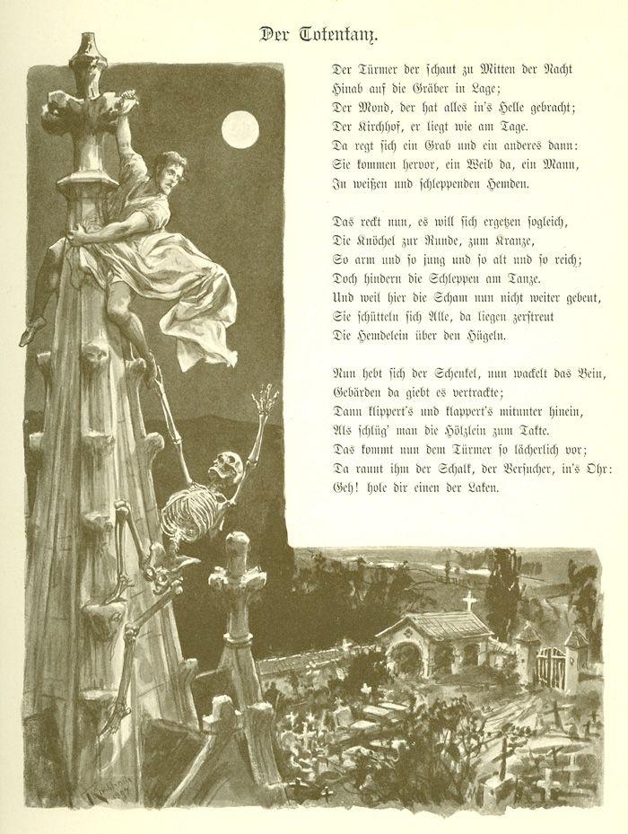 Gedichte von goethe uber den tod
