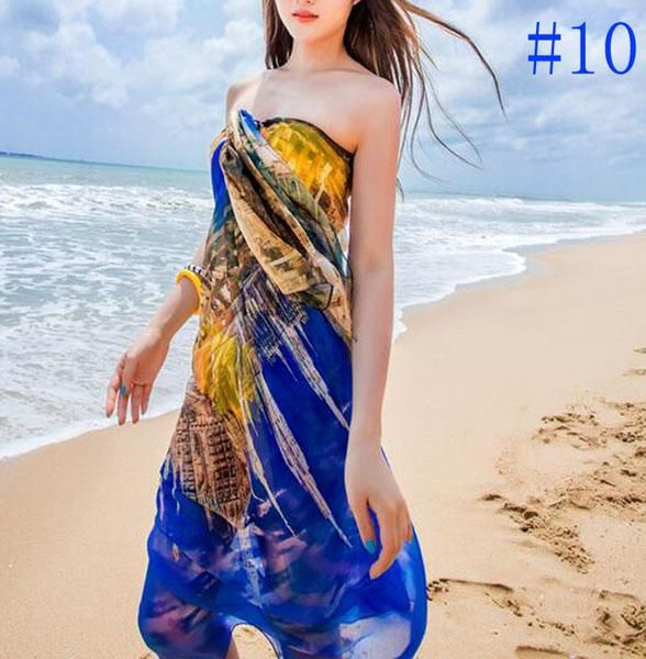 Women Sexy Summer Soft Lightweight Long Beach Sheer Shawl Scarf Check/Tower/Fish/Butterfly/Tree Pattern Head Scarf Styles Crochet Scarves From Uhuru, $9.6| Dhgate.Com