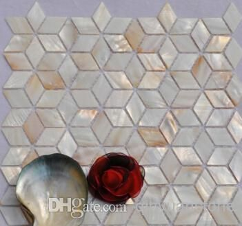 Wholesale Marble Mosaic - Buy Mother Pearl Shell Mosaic Tile Mother of Pearl Tiles Kitchen Backsplash Background Wall Mosaics Tile Home Improvement $27.57 | DHgate
