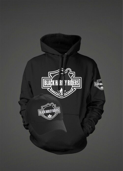 7db31cfc Black harley riders hoodies and hats now available www.bhrgear.com ...
