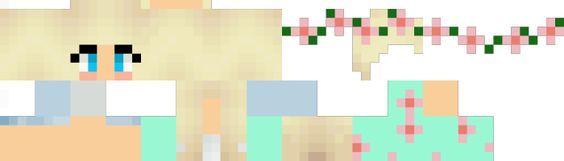 Minecraft Pe Skins For Girls Layout Minecraft PE Skins Skin - Skins para minecraft pe girl