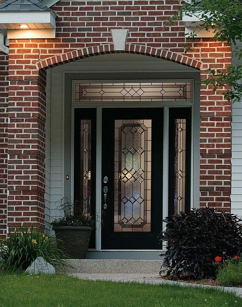Odl majestic decorative door glass exteriors pinterest for Decorative glass entry door