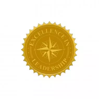 Excellence In Leadership Gold Foil Certificate Seals Leadership Foil Gold Foil