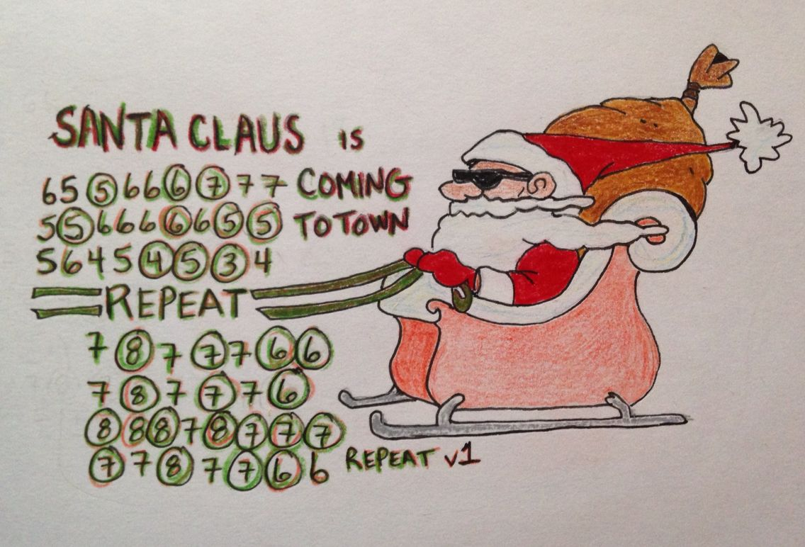 Santa Claus Is Coming To Town Guitar Lessons For Kids Harmonica Lessons Music Lessons