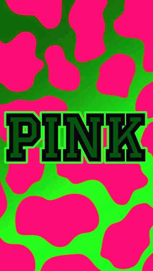 GREEN AND PINK BACKGROUND PINK on We Heart It
