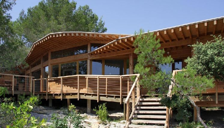maison-bois-bioclimatique-archenvironnement Dream Cabins