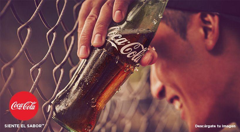 Publicidad Coca Cola Siente El Sabor Pin En Coke