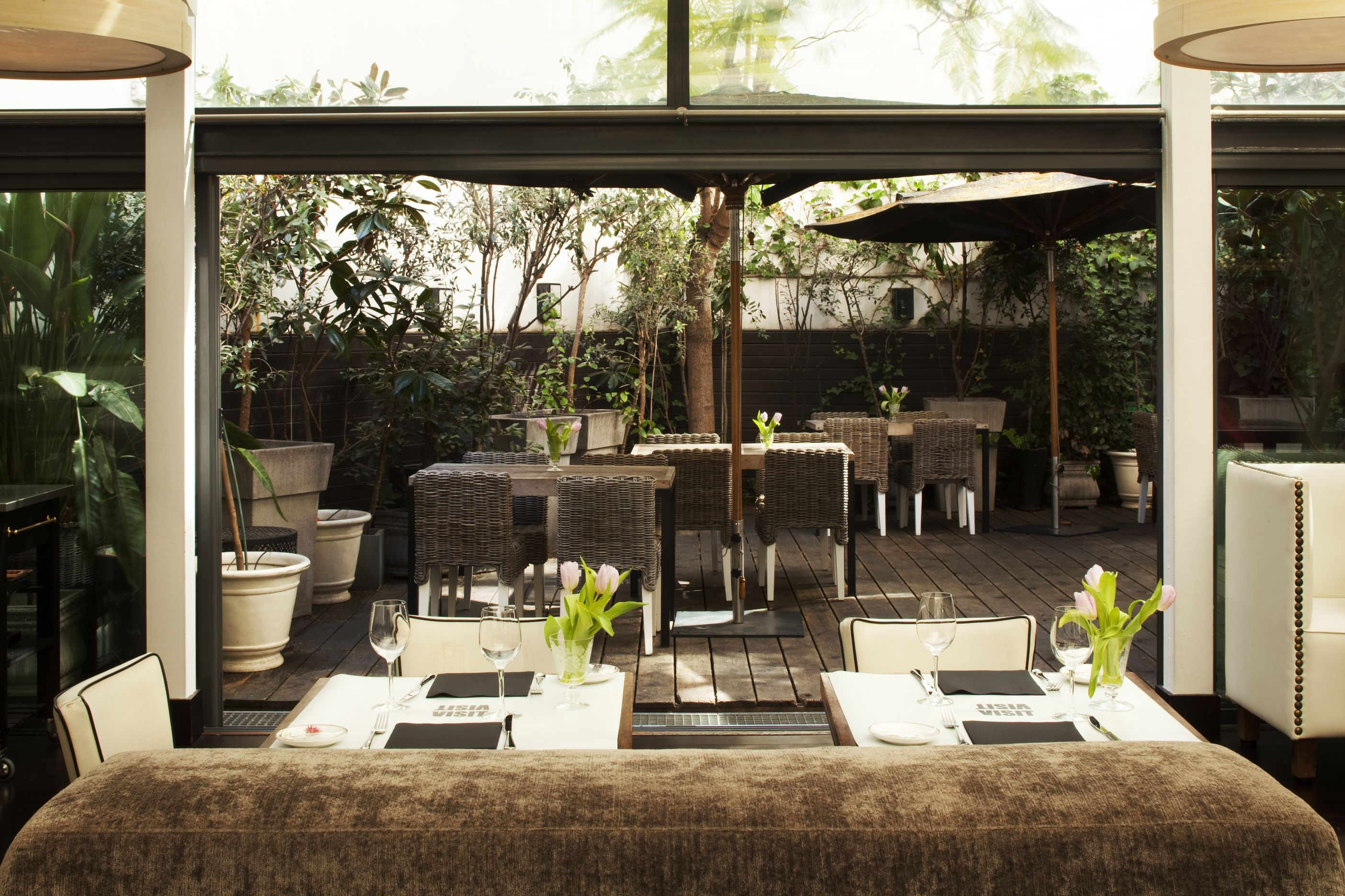 Terraza restaurante visit market food del hotel pulitzer - Terrazas hoteles barcelona ...