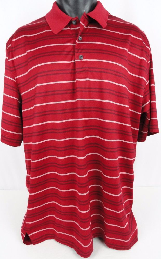 16478ef1 Brooks Brothers Golf Performance Knit Country Club Polo Shirt Striped Men's  XXL #BrooksBrothers #PoloRugby