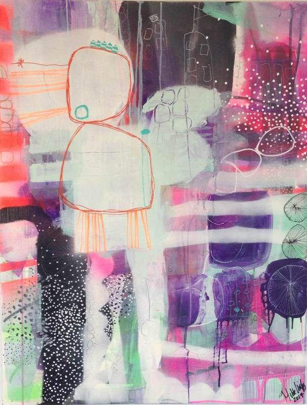 Faerdiggor Dit Maleri Sadan Her Mettes Maleskole Abstract Art Inspiration Art Abstract Art