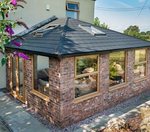 Conservatory Refurbishment In Cheshire Crystal Living Garden Room Extensions Garden Room House Extension Design