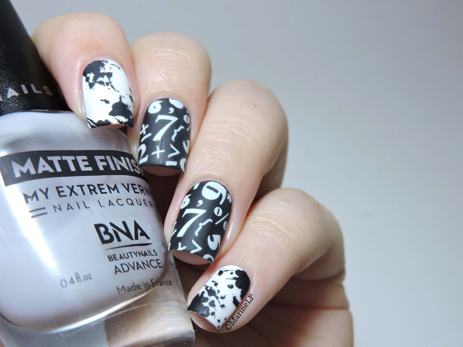 Nailstorming Back To School School Nails Bundle Monster And