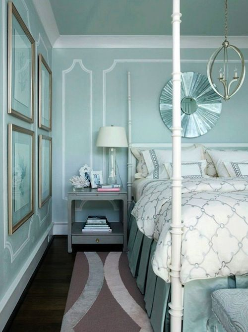 8 Favorite Tiffany Blue Rooms | Bedrooms, Tiffany blue and Tiffany