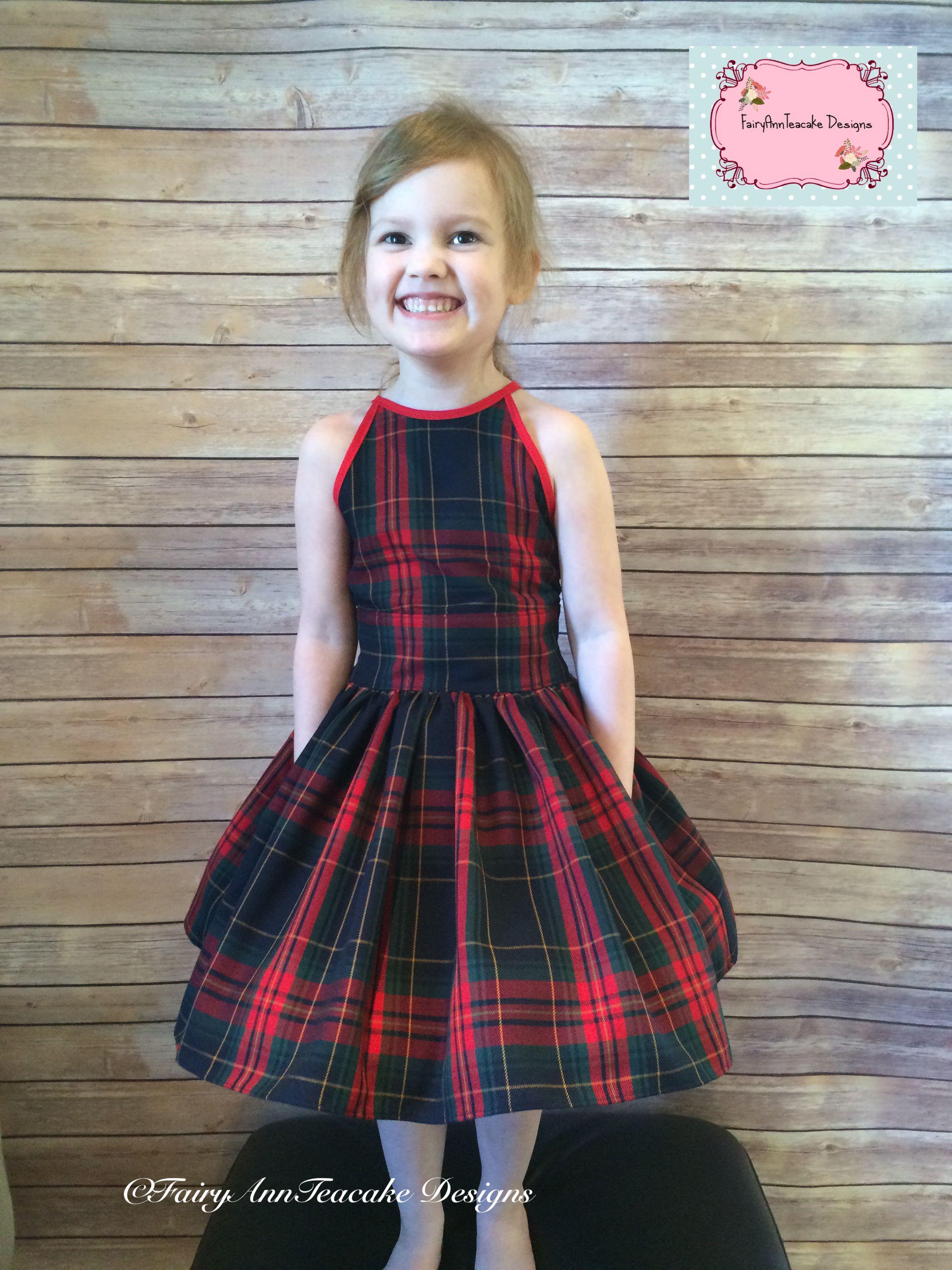 459475b119a4 Handmade haven tartan dress VFT pattern Preteen Fashion, Girl Fashion, Tartan  Dress, Sewing