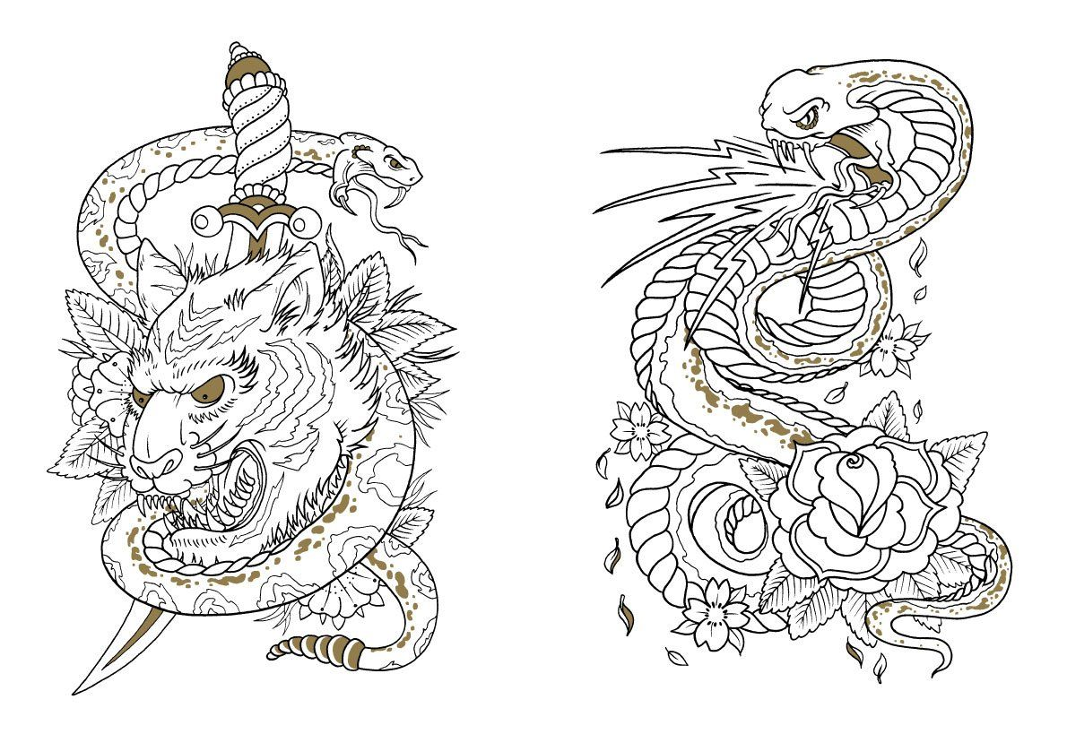 amazonin buy tattoo coloring book book online at low prices in india - Where To Buy Coloring Books