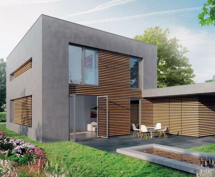 plat dak huis google zoeken h user pinterest haus haus bauen und fassade haus. Black Bedroom Furniture Sets. Home Design Ideas