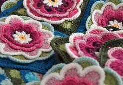 Lily Pond Blanket CAL pattern by Jane Crowfoot