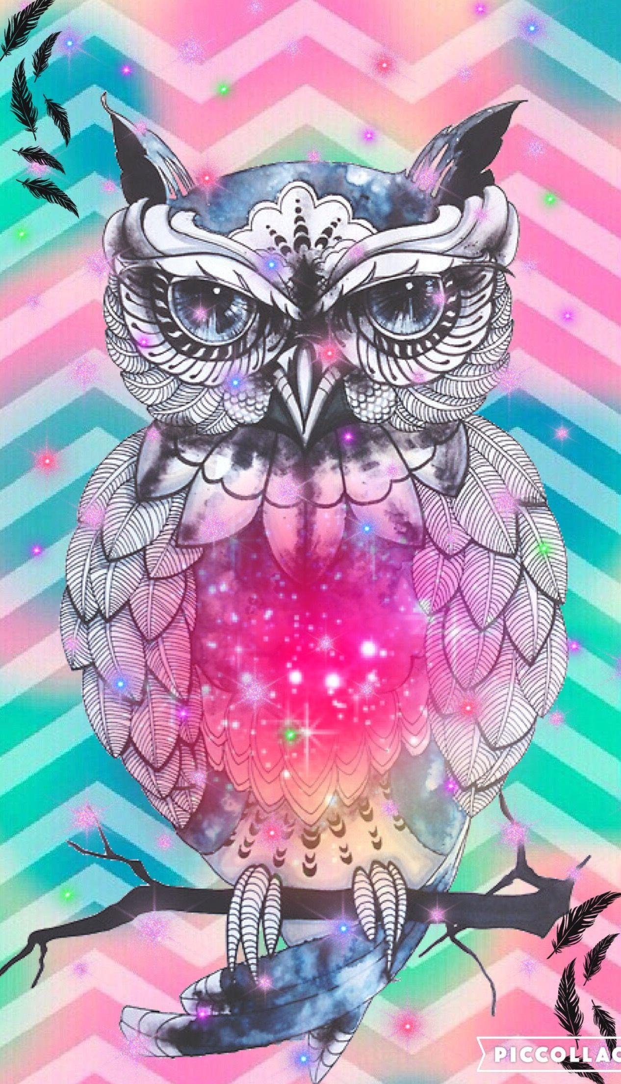 Owl Cute Girly Create By Rose Owl Wallpaper Iphone Cute Owls