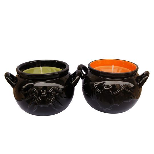 Purchase the Assorted Unscented Cauldron Candle By Ashland® at - michaels halloween decorations