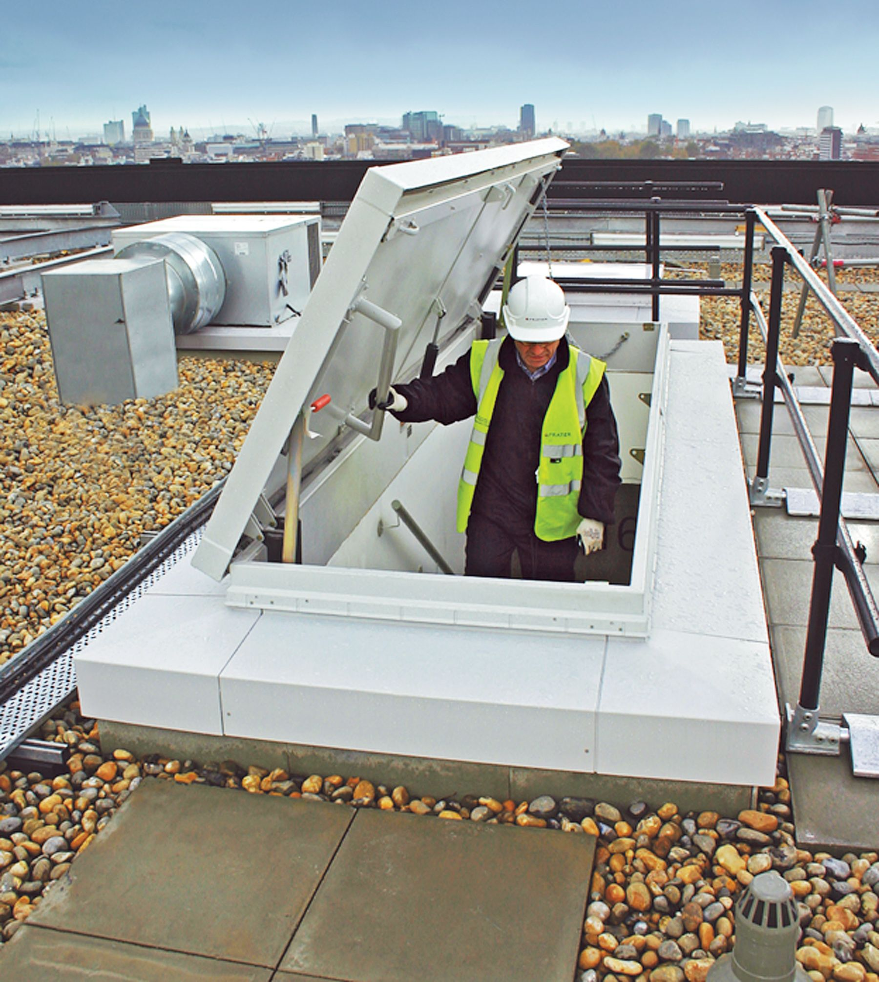 Commercial Roof Hatches Provide Safe And Convenient Access