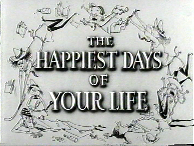 Ronald Searle Tribute: Film Titles & Posters | Ronald searle, Film, Happy  day