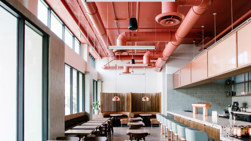 Project M Plus Infuses Salted Pig Eatery In California With Desert Hues In 2020