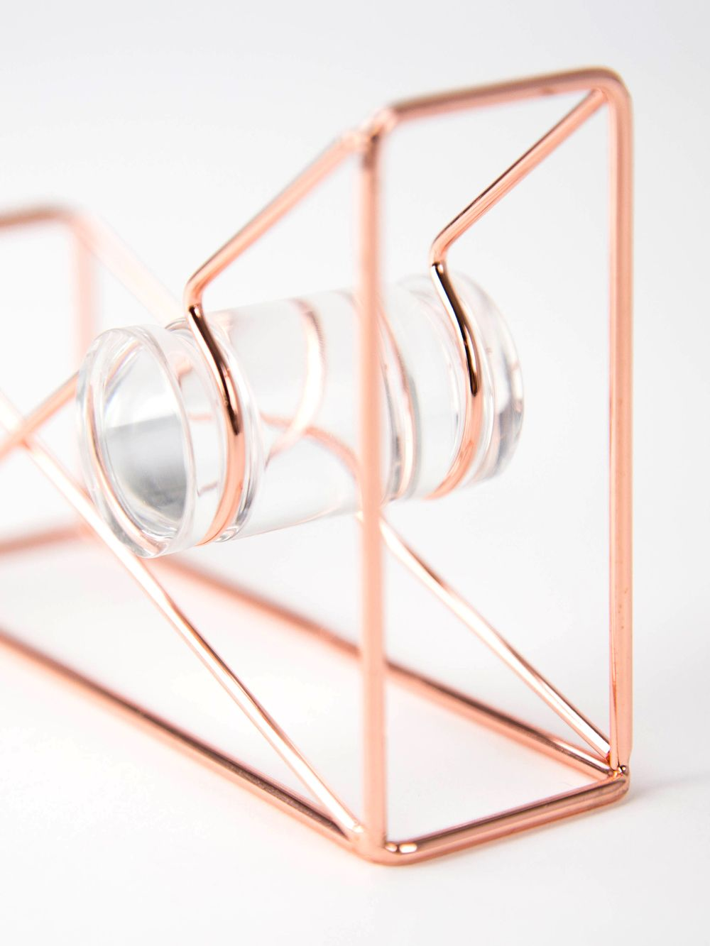 U Brands Copper Wire Tape Dispenser Tape Dispenser
