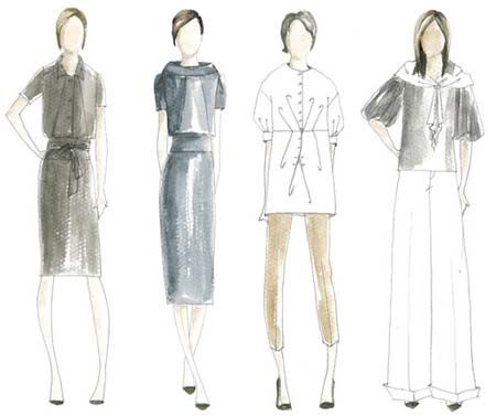 5 Ways To Help You Get Focused In Your Business Maker S Row Blog Simple Dresses Dress Sketches Clothes Design