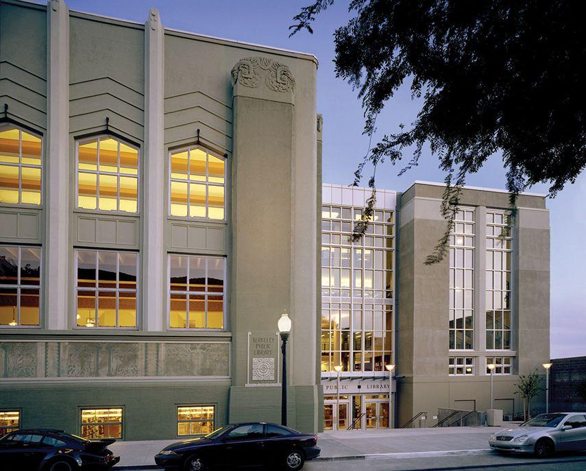 Berkeley Public Library Addition Preservation Brief 14
