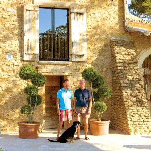 Thomas Boots And Rudolph Rood Run A Chambres D Hotes In Provence