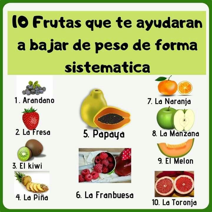 10 Frutas Y Verduras