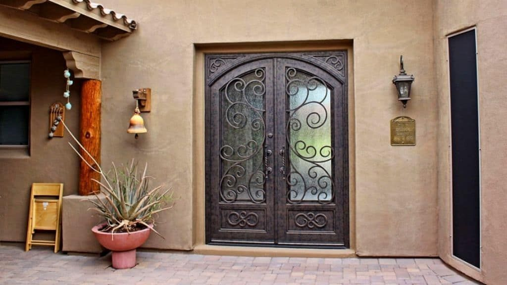 Exterior Security Doors For Houses Security Door Home Security Tips Tuscan House