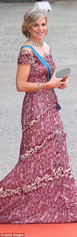Blonde beauty! Queen Maxima is celebrated for her refined style...