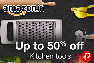 Amazon is offering Upto 50% off on #Bestsellers #Kitchen #Tools. Up to 50% off Graters & slicers, Up to 50% off Knives, Up to 30% off on Chopping Boards,: Up to 50% off Baking tools & more, Up to 40% off Manual Juicers, Up to 30% off Cooking Spoons, Up to 50% off Bar Accessories, Up to 20% off Oil Pourers.   http://www.paisebachaoindia.com/kitchen-tools-bestsellers-upto-50-off-amazon/