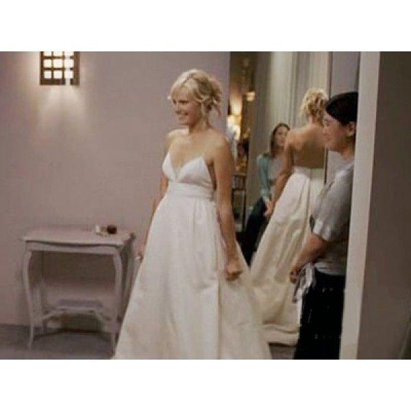 Tess Wedding Dress In Movie 27 Dresses Tessweddingdress