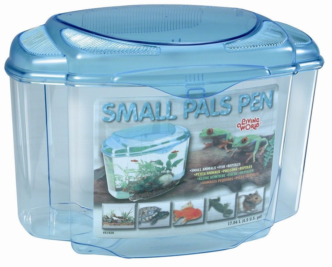 Living World Pals Pen Aquarium Kit (Set of 3)
