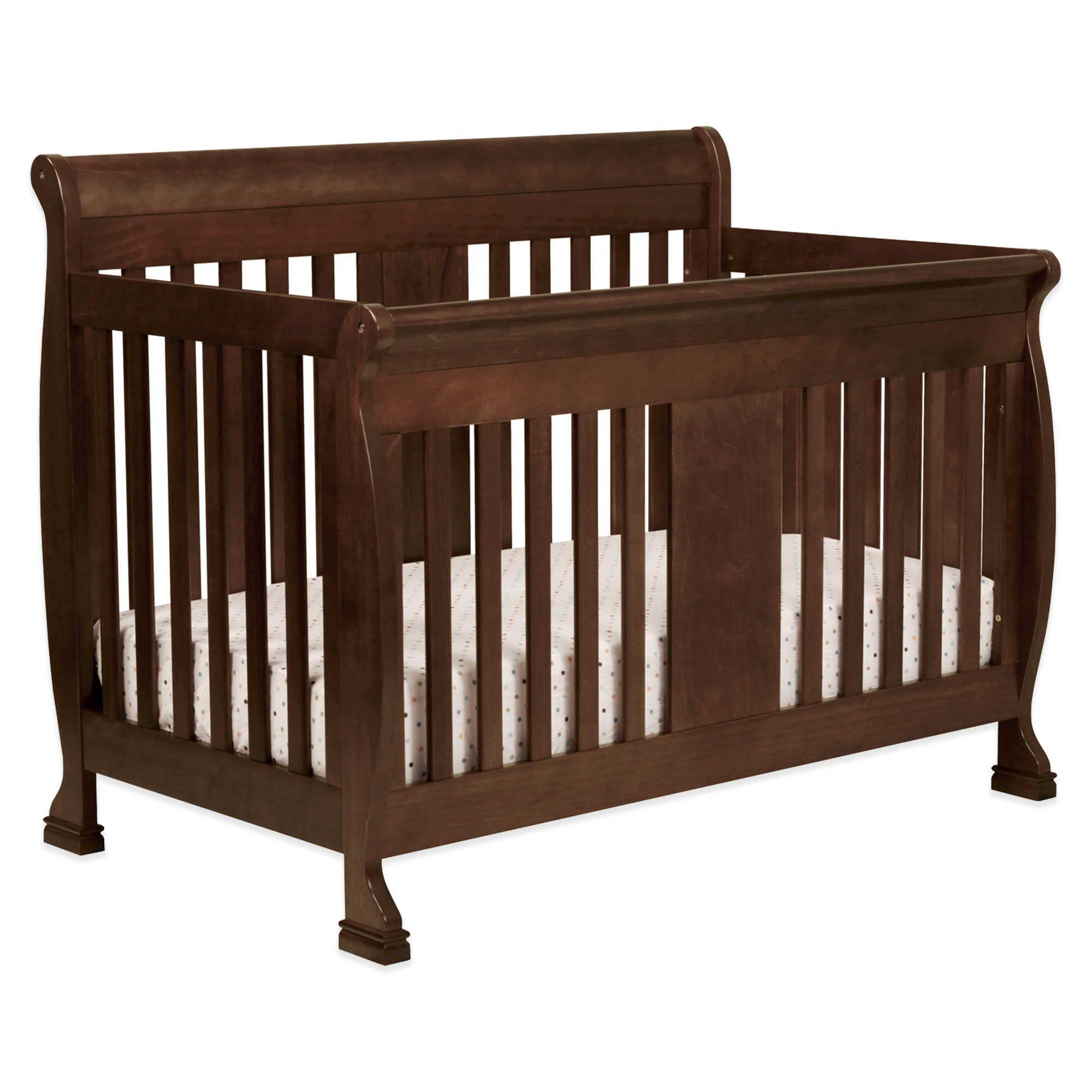 Davinci Porter 4 In 1 Convertible Crib In Espresso Convertible Crib Convertible Crib Espresso Cribs