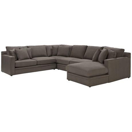 Freedom Furniture Shown In Napa Fabric In Bark Like Living Areas Freedom Furniture Lounge Furniture Sofa