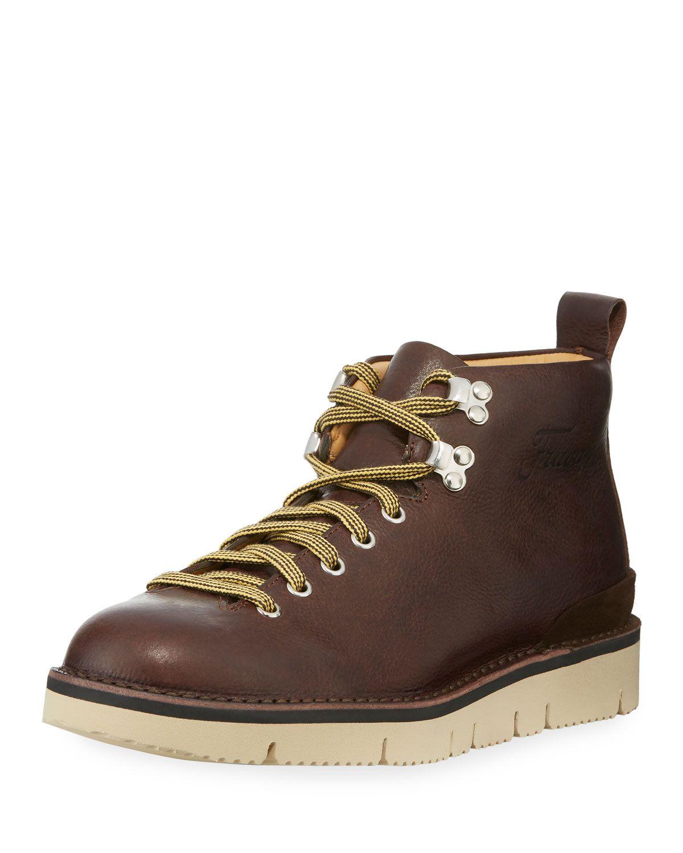 8faf022ba50 FRACAP LEATHER LACE-UP BOOT. #fracap #shoes # | Fracap | Leather ...