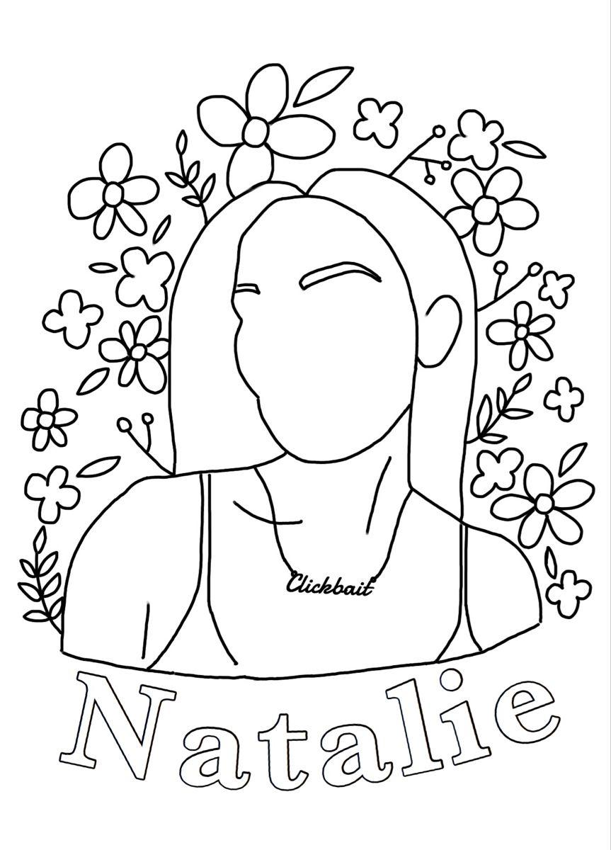 Jennifer Joann Jenniferjoann Tiktok In 2020 Cute Coloring Pages Coloring Pages Sketch Book
