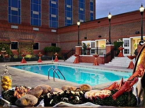 The Hotel At Auburn University Alabama Located On Campus Of