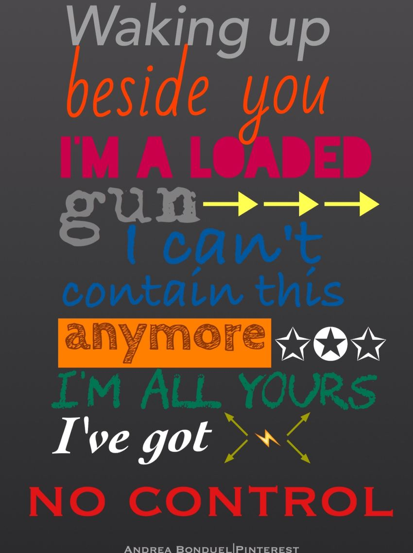 No Control--One Direction: FOUR | One direction lyrics, One direction  songs, Direction quotes