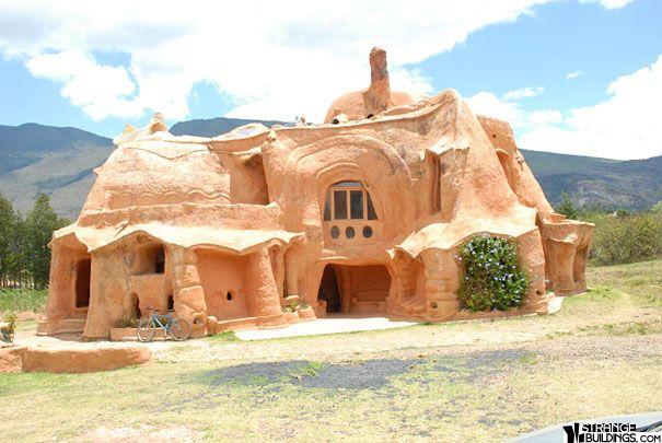 As 17 Construcoes Mais Estranhas Do Mundo Casas Extravagantes