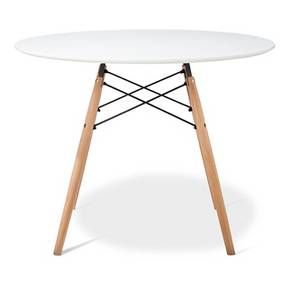 paris round dining table - white | round dining table, apartment