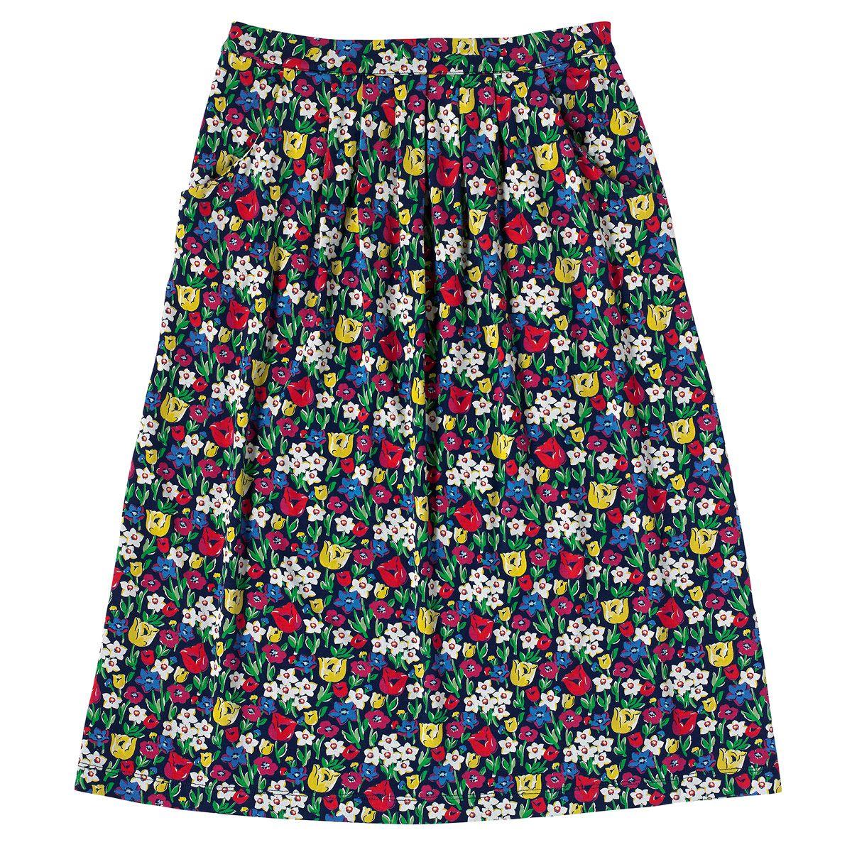 paradise fields pleated midi skirt skirts cathkidston